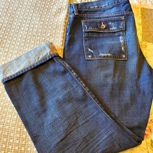 Lucky Brand Ankle Crop Jeans